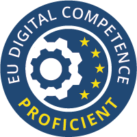 Self assessed badges for digital competences